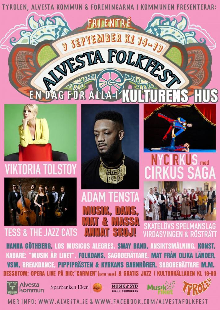 Alvesta Folkfest 2017